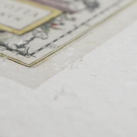 Ruční papíry - potisk